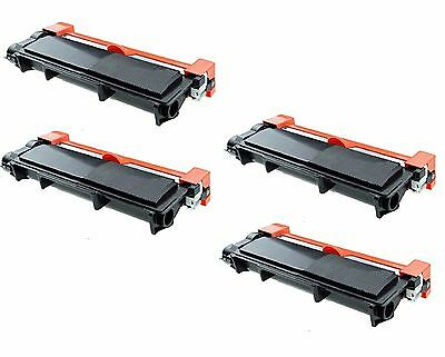 4-Pack/Pk TN660 TN630 High Yield Toner for Brother HL-L2300D L2320D L2340DW