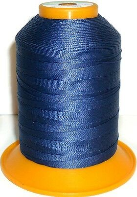 Amann Serafil Thread, Navy Blue, 20 Wr 600M, Water Repellent Thread, Art 137