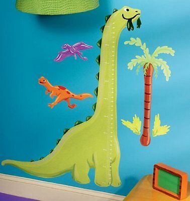 Wallies Dinosaur Growth/Height Chart Sticker