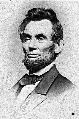New 5x7 Photo: President Abraham Lincoln by Famed Photographer Mathew Brady