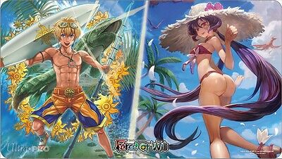 Summer 2016 Beach Day Playmat for Force of Will UPI 85115