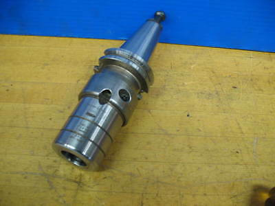 "Cat-40 1"" Bore Hydraulic Endmill Holder Cnc Mill ***vgc***"