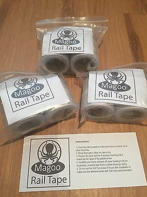 Magoo SUP Rail Tape 2 x 1.9m - FREE POSTAGE - protect your stand up paddle board