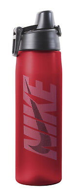 Nike 24oz Core Hydro Flow Graphic Water Bottle   Sport Red/Uni Blue