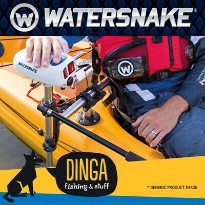 "Watersnake ASP T24lb 24"" Shaft Kayak Motor & Bracket Combo"