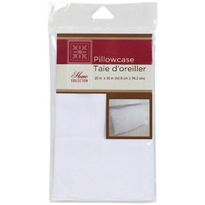 """Standard Size White Pillowcases, 20x30"""" US Seller Free Shipping"""