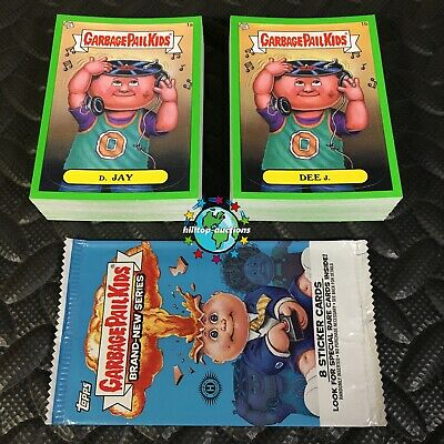 GARBAGE PAIL KIDS 2016 PRIME SLIME TRASHY TV COMPLETE 220-CARD SET FreeWorldShip