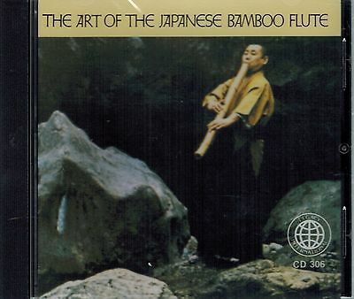 The Art Of The Japanese Bamboo Flute CD Unopened 21 Tracks