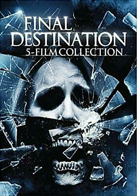 5 Film Collection: Final Destination - DVD-STANDARD Region 1 Free Shipping!