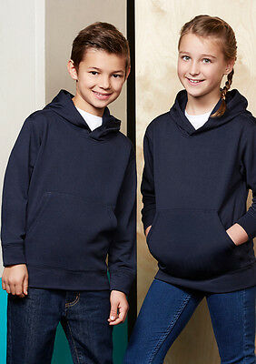 Kid Casual Unisex Outwear Hype Pull-On Hoodie Fleece Running Exercise Fb Sw239Kl