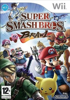 Super Smash Bros Brawl Wii Nintendo jeu jeux game games lot spelletjes 1523