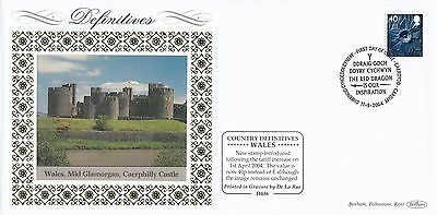 (93236) GB Wales FDC D436  40p Definitive Cardiff 11 May 2004