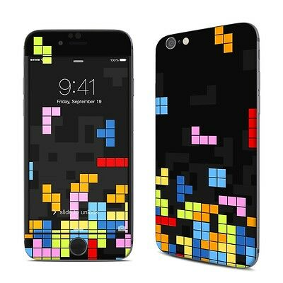 NEW Tetrads Geometric Blocks Vinyl Decal Skin Sticker Cover For iPhone Models