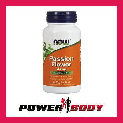 NOW Foods - Passion Flower, 350mg - 90 vcaps