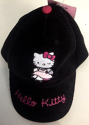 Cappellino inverno bambina HELLO KITTY taglia 52 idea regalo originale Sanrio