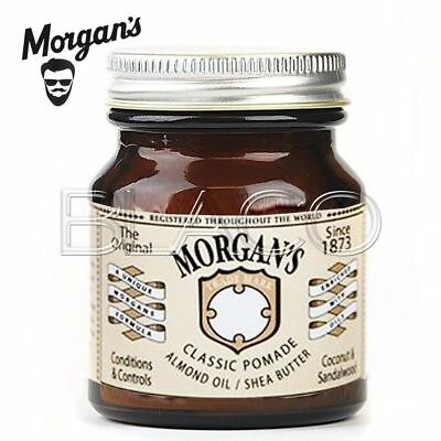 Morgan's Classic Pomade Almont Oil Crema Per Capelli E Barba 100Gr Beard Care