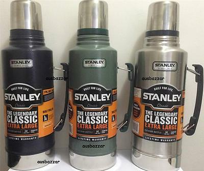New Stanley Classic 1.9L Stainless Steel Thermos Flask Vacuum Insulated Bottle