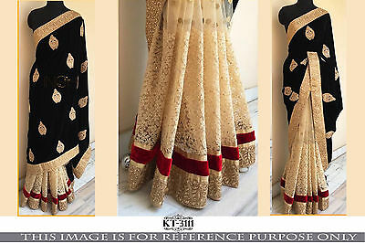 Latest Bollywood Designer Indian Party Wear Sari Bridal Wedding Pakistani Saree