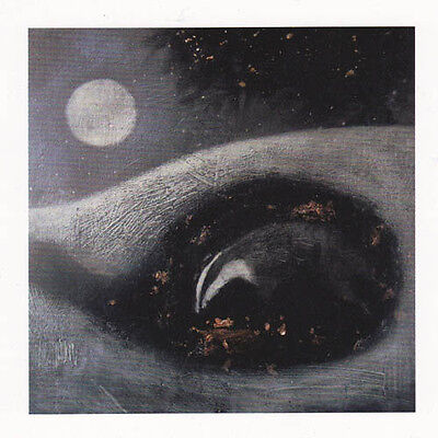 PAGAN WICCAN GREETNG CARD Sleeping Earth NATURE Badger CELTIC CATHERINE HYDE