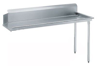"""Advance Tabco DTC-S60-72R-X Straight-Clean Dishtable, 72"""" long, left-to-right"""