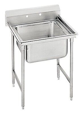 """Advance Tabco 25"""" Regaline One Compartment Sink Model T9-1-24"""