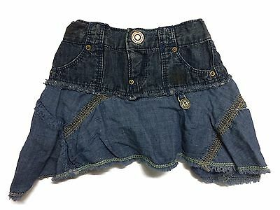 Diesel Baby Girls Skirt Denim Golkb 3-9 Months NEW
