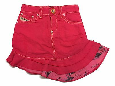 Diesel Baby Girls Skirt Gisub Pink Age 3-9 Months NEW