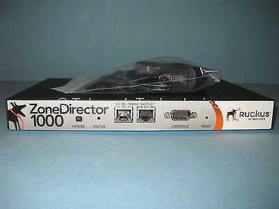 Ruckus Wireless ZoneDirector 1000 ZD1006 Model 901-1006-US00 with 6 AP Licenses