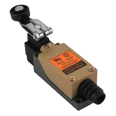 TZ-8104 Momentary Actuator Action Rotary Roller Lever Limit Switch 1NO+1NC HS686