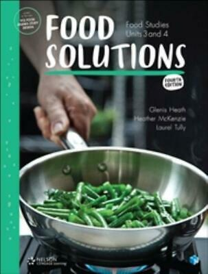 Food Solutions: Food Studies Units 3 & 4 1-Code Access Card by Glenis Heath