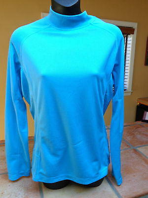 Daily Sport Women's Golf Shirt Mock Turtle  263/102 Size Large Two Colors Nwt
