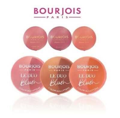BOURJOIS LE DUO BLUSH / LITTLE ROUND POT BLUSH --Choose shade---