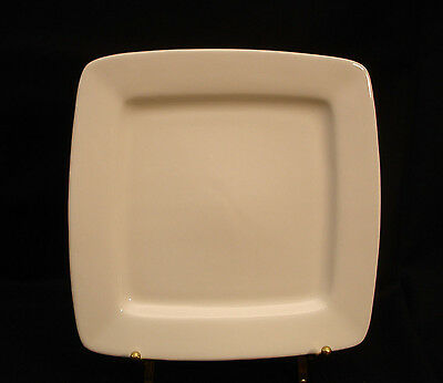White Elements Square by Gibson Designs SALAD PLATE 7 5/8""
