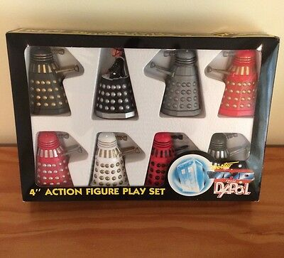 Dr Doctor Who Dapol Dalek Army Playset Boxed Rare Very Good Condition!