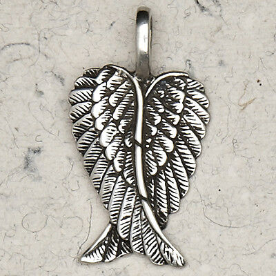 NEW Angel Wings Pewter Pendant Necklace