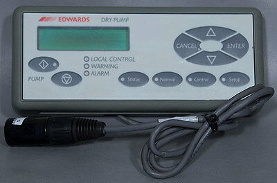 BOC Edwards iQ Hand Held Display Module/Controller PN: D37237000 Gameboy Key Pad