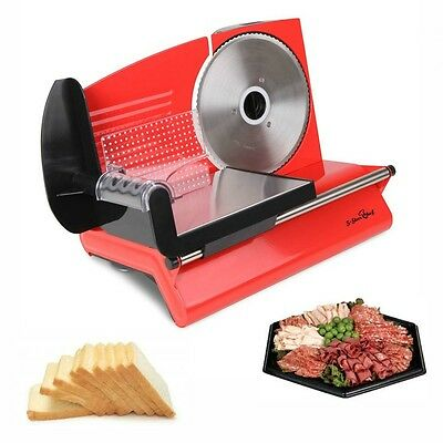 Electric Kitchen Meat Slicer Machine Appliance Cheese Slicing Bread Deli Cafe