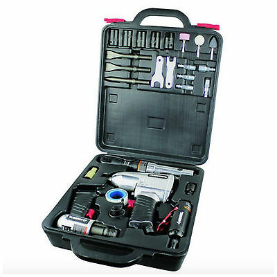 Husky Air Tool Accessory Kit 4 Piece Impact Wrench Ratchet Hammer Die Grinder
