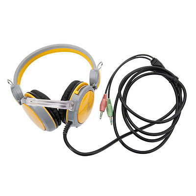 Universal Gaming Headset Headphone Earphone with Mic for PC Laptop Computer New