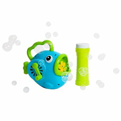 Sunnylife Fishy Wind Up Bubbles Kids Party Fun Toy Christmas Filler Gift Child