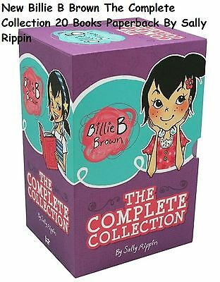 New Billie B Brown The Complete Collection 20 Books Paperback By Sally Rippin