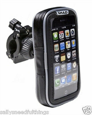 "Shad 5.5"" Universal Motorcycle Smart Phone GPS Handlebar Holder Waterproof"