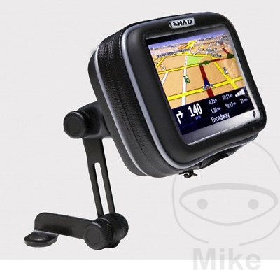 "Shad 5.5"" Universal Motorcycle Smart Phone GPS Mirror Mount Holder Waterproof"