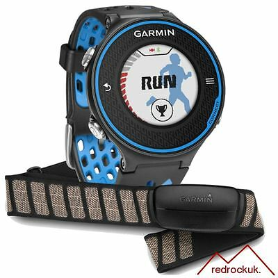 Garmin Forerunner 620 GPS Running Watch & Heart Rate Monitor - Black / Blue