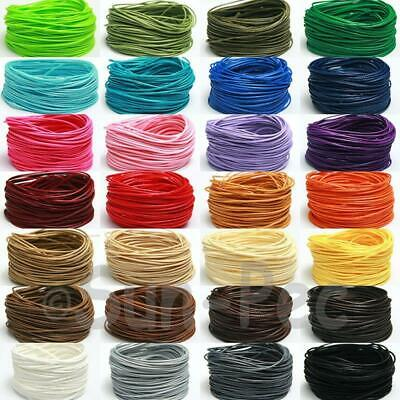 5m 'Snakeskin' Korean Waxed Rope Whipping Cord DIY Craft Jewelry Beading 28 Clrs