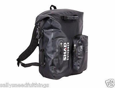 Shad Zulupack Motorcycle Dry Backpack or Rucksack Padded Back 100% Waterproof