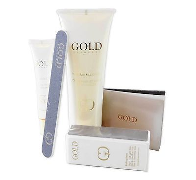 Gold Elements Nail Kit with Dead Sea Minerals Her Cuticle Oil Buffer Hand Cream