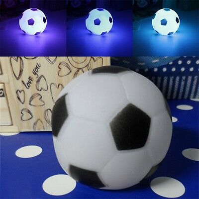 Color Changing Soccer Football LED Light Night Lamp Party Decor Gift New ZY