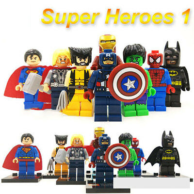 The Avengers Minifigures Building Block Gift Toy Birthday Gifts For Kids Lego