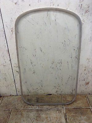 """Clear Glass Pane/Panel 3/16"""" Thick 20-5/8"""" x 12-1/2""""(with Gasket)-Lot of 100"""